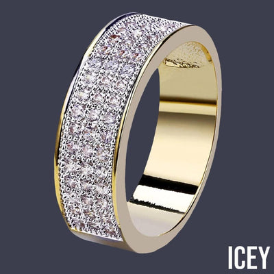 Micro Pave Cubic Zircon Round Ring - ICEY Jewelry - Iced Out High Quality Afforable Jewelry