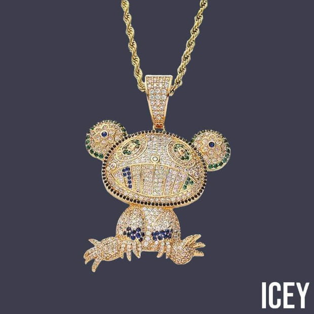 Iced Out Frog Pendant - ICEY Jewelry - Iced Out High Quality Afforable Jewelry