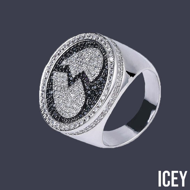 Broken Heart  Iced Out Bling Ring - ICEY Jewelry - Iced Out High Quality Afforable Jewelry