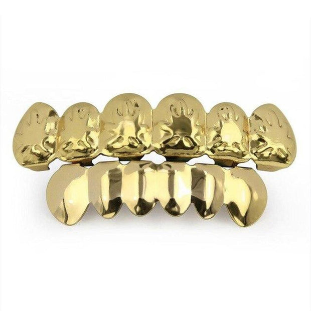Maple Leaf Teeth Grillz - ICEY Jewelry - Iced Out High Quality Afforable Jewelry