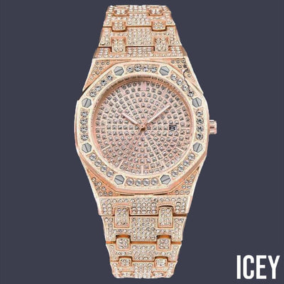 Stainless Steel Iced Out Watch - ICEY Jewelry - Iced Out High Quality Afforable Jewelry
