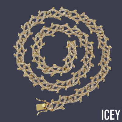 Cuban Chain Iced Out Chain - ICEY Jewelry - Iced Out High Quality Afforable Jewelry