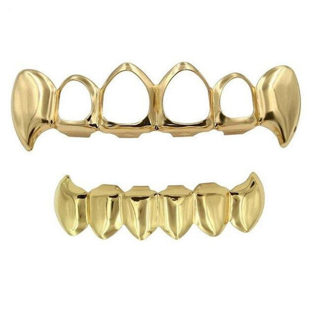 Open Face Vampire Grillz - ICEY Jewelry - Iced Out High Quality Afforable Jewelry