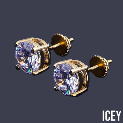 Bling Ice Out Stud Earring - ICEY Jewelry - Iced Out High Quality Afforable Jewelry