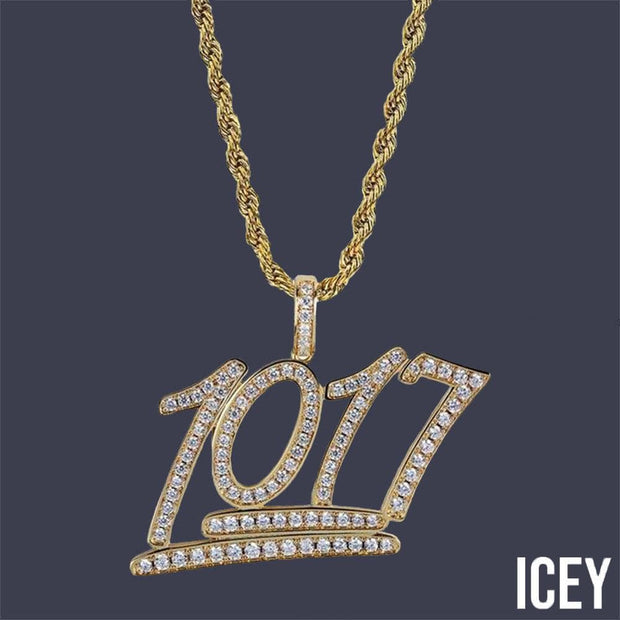 1017 Iced Out Pendant - ICEY Jewelry - Iced Out High Quality Afforable Jewelry