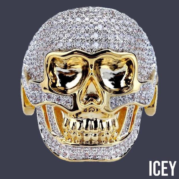 Skull Ring - ICEY Jewelry - Iced Out High Quality Afforable Jewelry