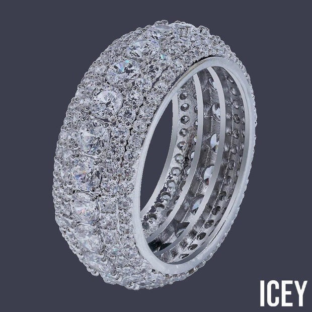 Cluster Ring - ICEY Jewelry - Iced Out High Quality Afforable Jewelry