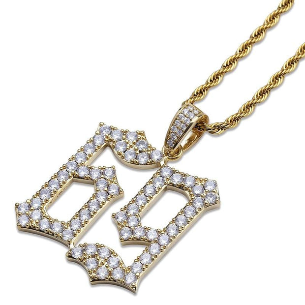 6ix9ine 69 Pendant - ICEY Jewelry - Iced Out High Quality Afforable Jewelry