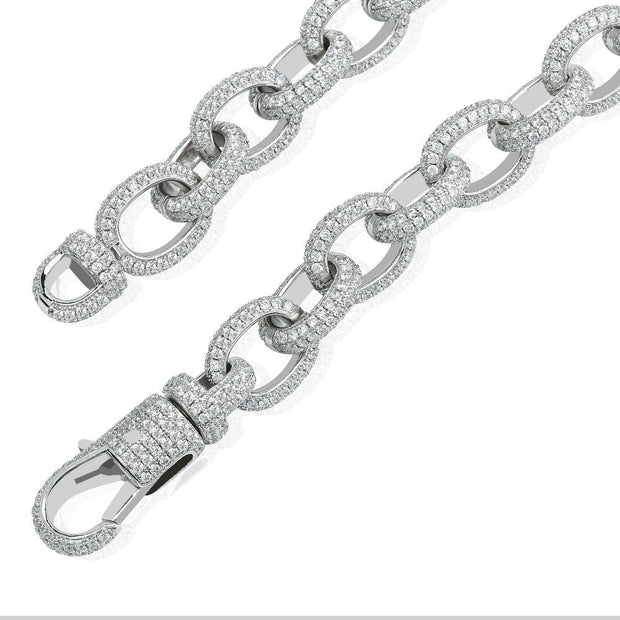 Twisted Link Chain Mens Bracelet - ICEY Jewelry - Iced Out High Quality Afforable Jewelry