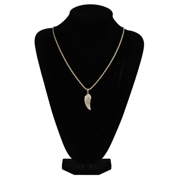 Angel Wings Pendant - ICEY Jewelry - Iced Out High Quality Afforable Jewelry