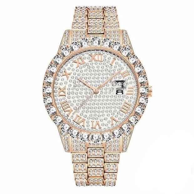 Iced Out Mens Watch - ICEY Jewelry - Iced Out High Quality Afforable Jewelry