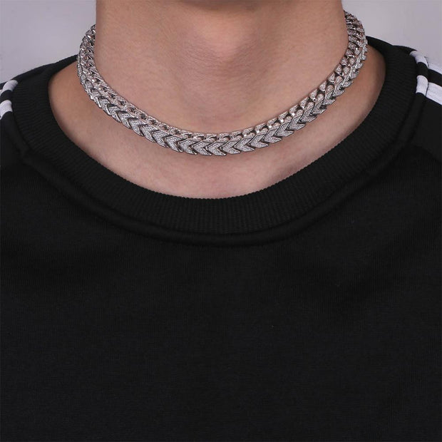 Iced Out Statement Square Chain - ICEY Jewelry - Iced Out High Quality Afforable Jewelry