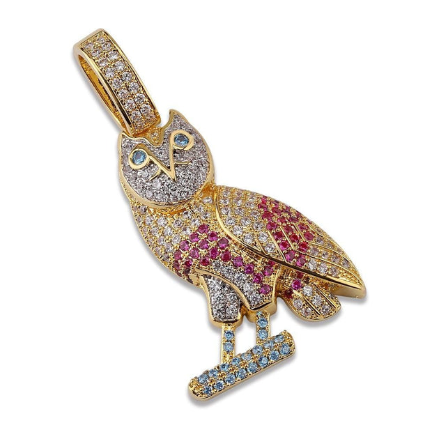 Owl Pendant - ICEY Jewelry - Iced Out High Quality Afforable Jewelry