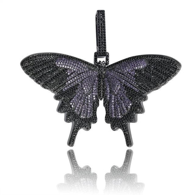 Fully Iced Out Butterfly Wings Pendant - ICEY Jewelry - Iced Out High Quality Afforable Jewelry