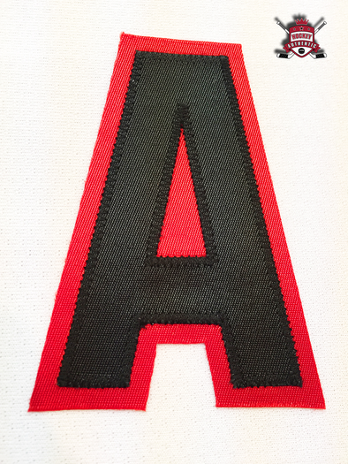 "ALTERNATE ""A"" OFFICIAL PATCH FOR CHICAGO BLACKHAWKS WHITE JERSEY - Hockey Authentic"