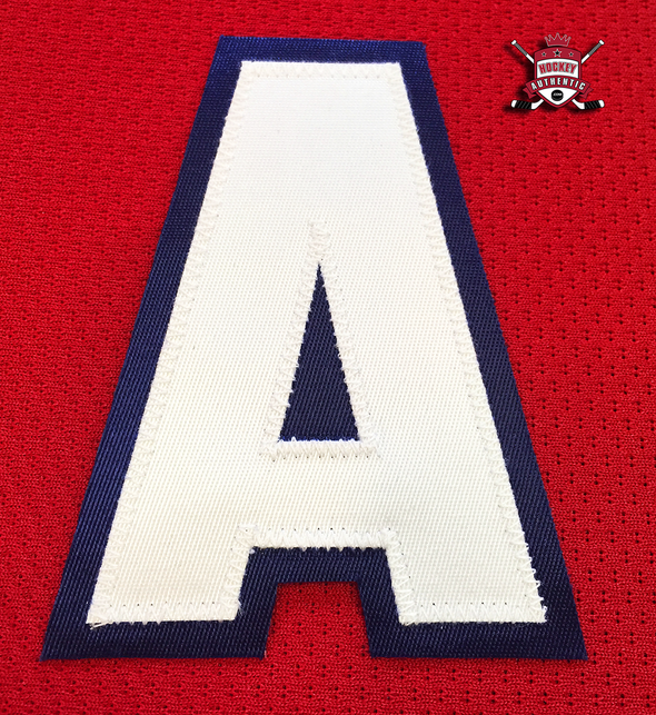"ALTERNATE ""A"" OFFICIAL PATCH FOR MONTREAL CANADIENS RED JERSEY - Hockey Authentic"