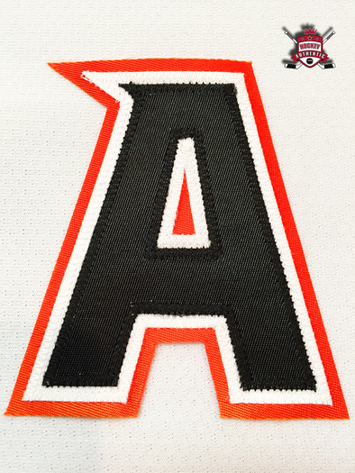 "ALTERNATE ""A"" OFFICIAL PATCH FOR ANAHEIM DUCKS AWAY 2014-PRESENT JERSEY - Hockey Authentic"