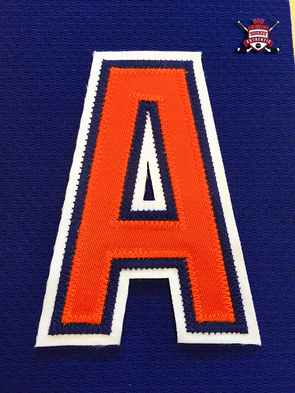 "ALTERNATE ""A"" OFFICIAL PATCH FOR EDMONTON OILERS BLUE JERSEY - Hockey Authentic"