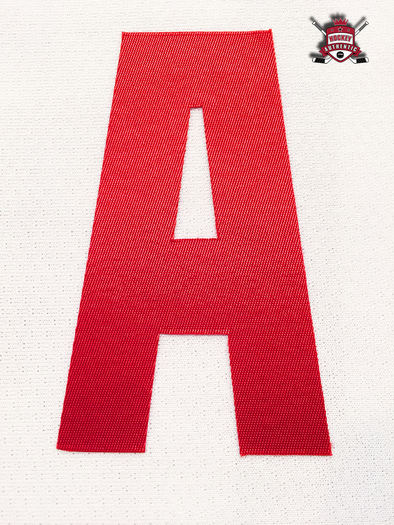 "ALTERNATE ""A"" OFFICIAL PATCH FOR DETROIT RED WINGS WHITE JERSEY - Hockey Authentic"