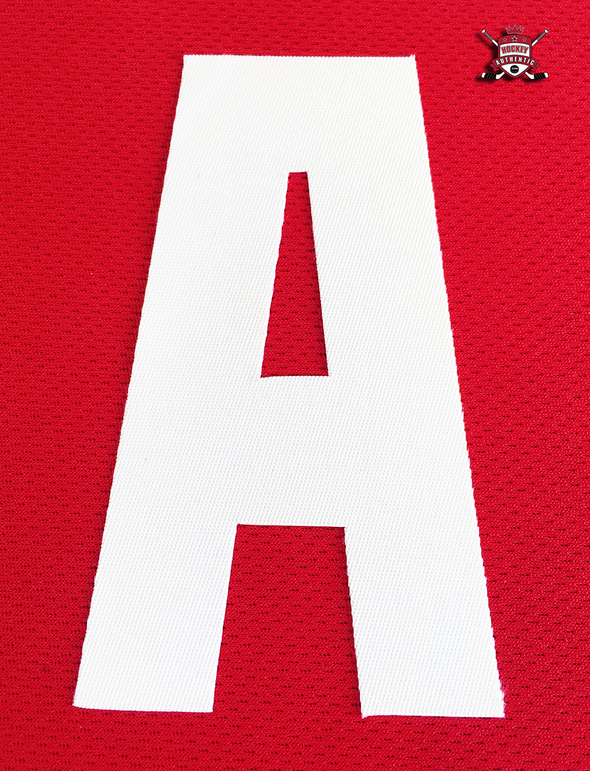 "ALTERNATE ""A"" OFFICIAL PATCH FOR DETROIT RED WINGS RED JERSEY - Hockey Authentic"