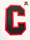 "CAPTAIN ""C"" OFFICIAL PATCH FOR CHICAGO BLACKHAWKS WHITE JERSEY - Hockey Authentic"