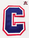 "CAPTAIN ""C"" OFFICIAL PATCH FOR MONTREAL CANADIENS WHITE JERSEY - Hockey Authentic"