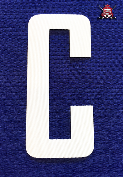 "CAPTAIN ""C"" OFFICIAL PATCH FOR VANCOUVER CANUCKS HOME OR 3RD 2007-PRESENT JERSEY - Hockey Authentic"