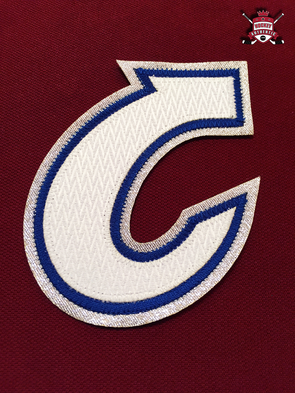 "CAPTAIN ""C"" OFFICIAL PATCH FOR COLORADO AVALANCHE HOME 1995-17 JERSEY - Hockey Authentic"