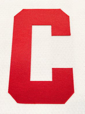 "CAPTAIN ""C"" OFFICIAL PATCH FOR DETROIT RED WINGS WHITE JERSEY - Hockey Authentic"