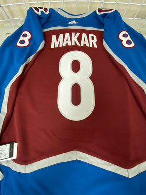 CALE MAKAR COLORADO AVALANCHE AUTHENTIC PRO ADIDAS NHL JERSEY