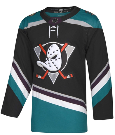 ANAHEIM DUCKS THIRD BLACK AUTHENTIC PRO ADIDAS NHL JERSEY