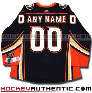 ANY NAME AND NUMBER ANAHEIM DUCKS AUTHENTIC PRO ADIDAS NHL JERSEY (2018-19 SEASON) - Hockey Authentic