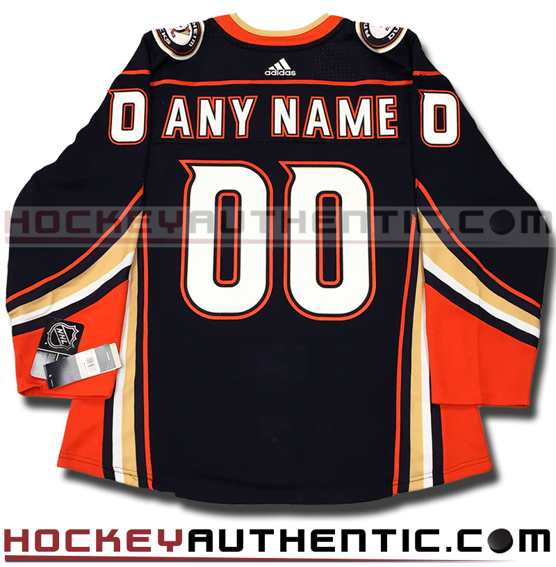 ANY NAME AND NUMBER ANAHEIM DUCKS AUTHENTIC PRO ADIDAS NHL JERSEY (2018-19  ROSTER) 715da594e3d