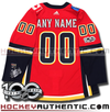 ANY NAME AND NUMBER CALGARY FLAMES AUTHENTIC PRO ADIDAS NHL JERSEY (2017-18 ROSTER) - Hockey Authentic