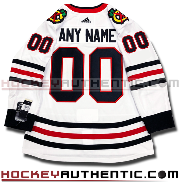 ANY NAME AND NUMBER CHICAGO BLACKHAWKS AUTHENTIC PRO ADIDAS NHL JERSEY - Hockey Authentic