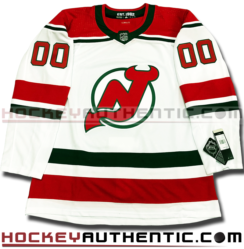 size 40 5fd47 b44ab ANY NAME AND NUMBER NEW JERSEY DEVILS THIRD AUTHENTIC PRO ADIDAS NHL JERSEY  (2018-19 ROSTER)