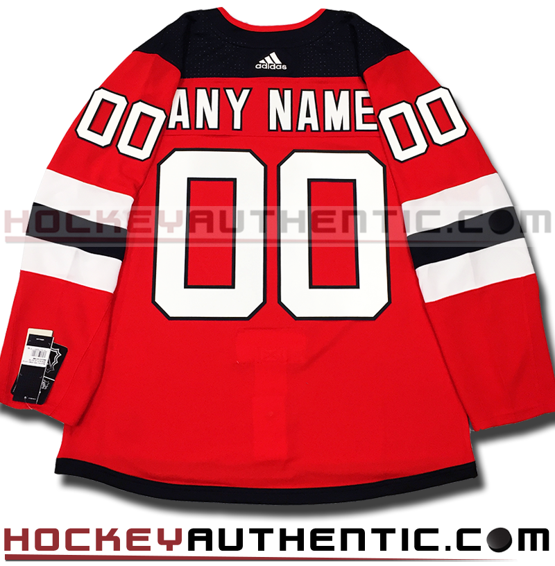 787c1eb89e1 ANY NAME AND NUMBER NEW JERSEY DEVILS AUTHENTIC PRO ADIDAS NHL JERSEY –  Hockey Authentic