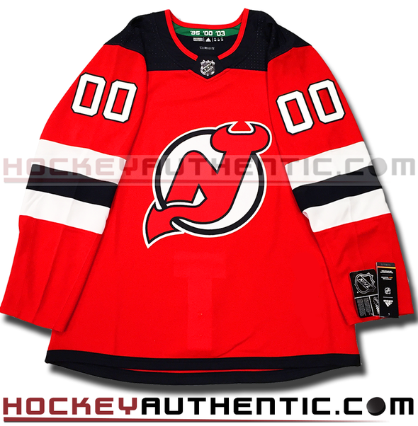 ANY NAME AND NUMBER NEW JERSEY DEVILS AUTHENTIC PRO ADIDAS NHL JERSEY - Hockey Authentic