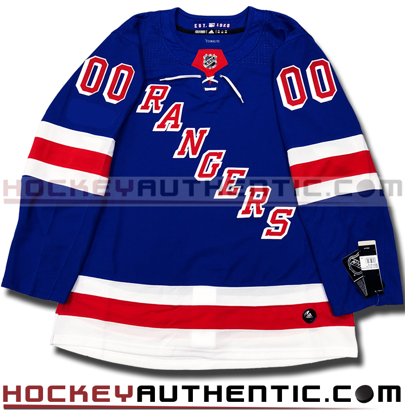 new product c0783 2d326 ANY NAME AND NUMBER NEW YORK RANGERS AUTHENTIC PRO ADIDAS NHL JERSEY  (2018-19 ROSTER)