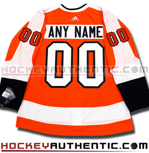 ANY NAME AND NUMBER PHILADELPHIA FLYERS AUTHENTIC PRO ADIDAS NHL JERSEY (2018-19 ROSTER) - Hockey Authentic