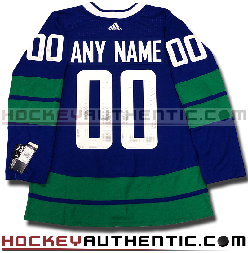 fd396d05b ANY NAME AND NUMBER VANCOUVER CANUCKS THIRD HERITAGE AUTHENTIC PRO ADIDAS  NHL JERSEY