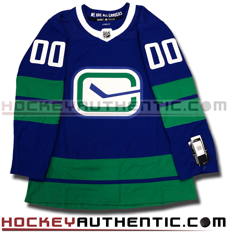 newest 0a906 bea49 ANY NAME AND NUMBER VANCOUVER CANUCKS THIRD HERITAGE AUTHENTIC PRO ADIDAS  NHL JERSEY
