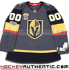 ANY NAME AND NUMBER VEGAS GOLDEN KNIGHTS AUTHENTIC PRO ADIDAS NHL JERSEY (2017-18 INAUGURAL EDITION) - Hockey Authentic