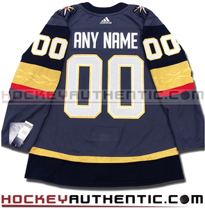ANY NAME AND NUMBER VEGAS GOLDEN KNIGHTS AUTHENTIC PRO ADIDAS NHL JERSEY (2018-19) - Hockey Authentic