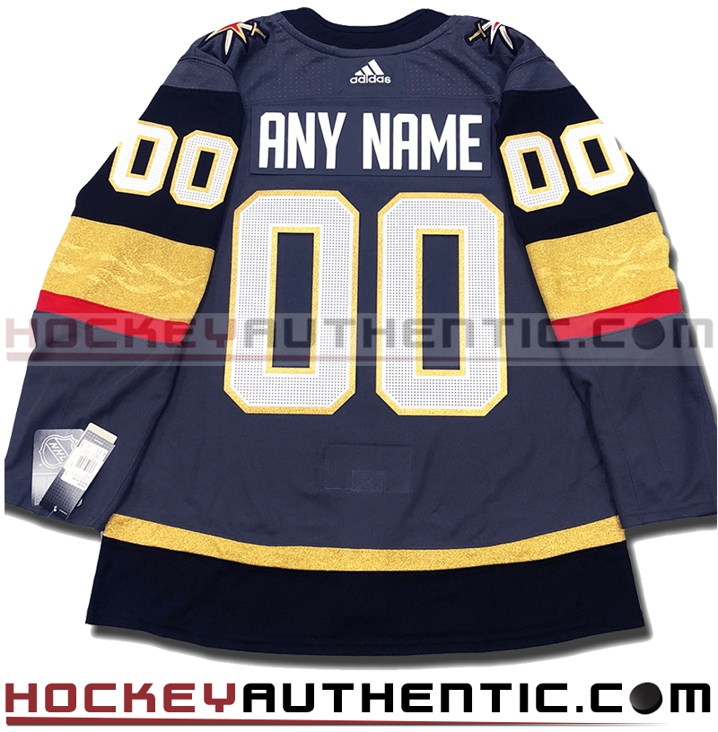 reputable site 1e45a 3abe6 ANY NAME AND NUMBER VEGAS GOLDEN KNIGHTS AUTHENTIC PRO ADIDAS NHL JERSEY  (2018-19 ROSTER) -