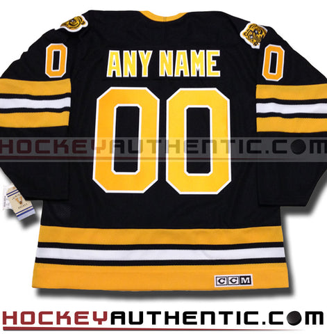 Any Name and Number Boston Bruins 1990 CCM vintage jersey