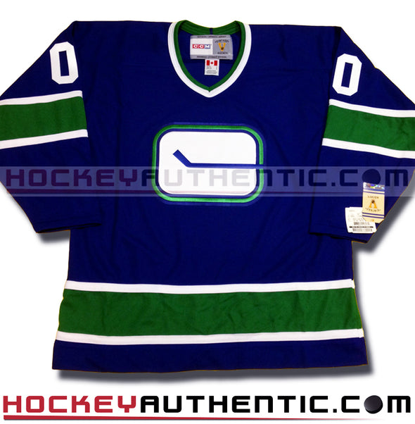 ANY NAME AND NUMBER VANCOUVER CANUCKS CCM VINTAGE REPLICA NHL JERSEY - Hockey Authentic