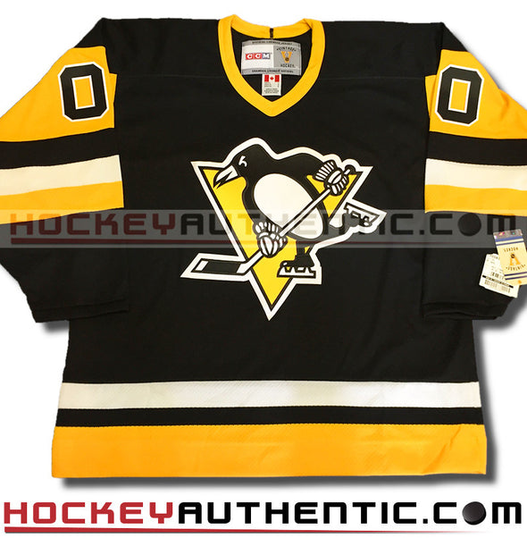 ANY NAME AND NUMBER PITTSBURGH PENGUINS CCM VINTAGE 1992 REPLICA NHL JERSEY - Hockey Authentic