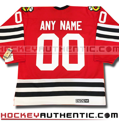 Any Name and Number Chicago Blackhawks 1963 CCM vintage jersey - Hockeyauthentic.com  - 1