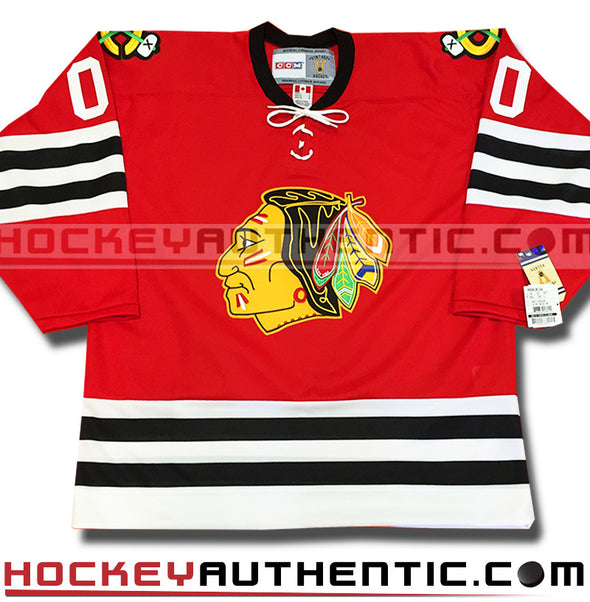 ANY NAME AND NUMBER CHICAGO BLACKHAWKS CCM VINTAGE 1963 REPLICA NHL JERSEY - Hockey Authentic